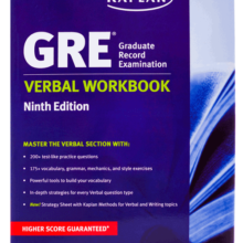 کتاب New GRE Verbal Workbook KAPLAN ویرایش نهم