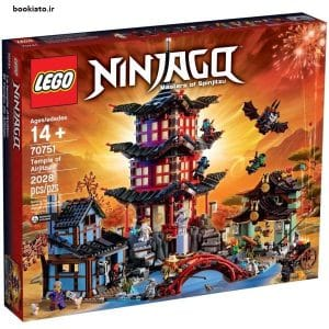 لگو سری Ninjago مدل Temple Of Airjitzu 70751